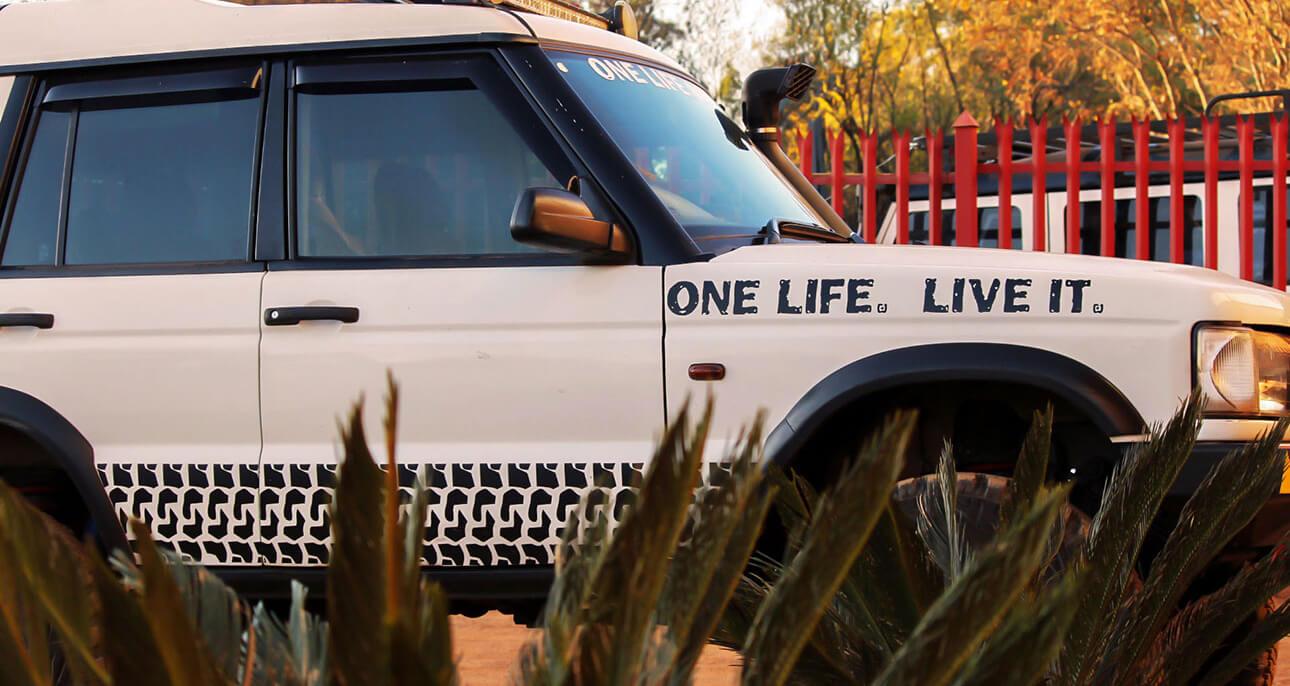 Refurbishing Land Rover